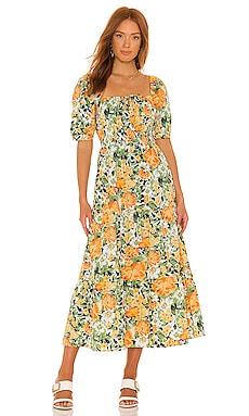 RENE ミディ丈ドレス FAITHFULL THE BRAND $229