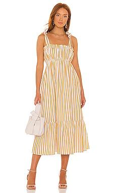 Gia Midi Dress FAITHFULL THE BRAND $239