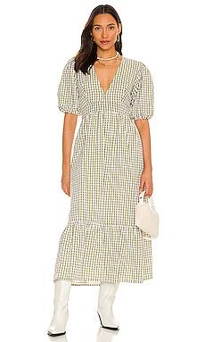 Romilla Midi Dress FAITHFULL THE BRAND $319 NEW