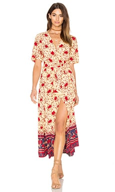 FAITHFULL THE BRAND Adela Dress in Rose Garden Floral