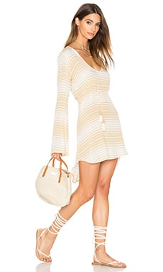 FAITHFULL THE BRAND Apart Dress in Beach Stripe