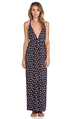 FAITHFULL THE BRAND Long Lost Maxi Dress in Grandma Floral Print
