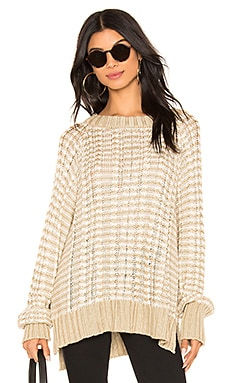Teale Knit Sweater FAITHFULL THE BRAND $179 NEW ARRIVAL