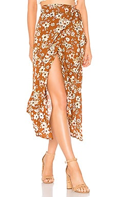 Caribe Wrap Skirt FAITHFULL THE BRAND $138