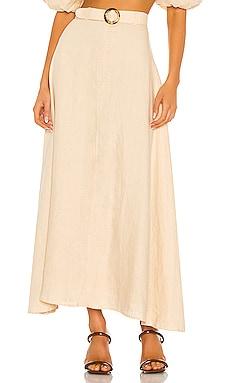 Devon Midi Skirt FAITHFULL THE BRAND $229