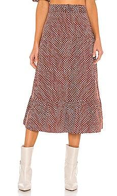 Farida Midi Skirt FAITHFULL THE BRAND $169