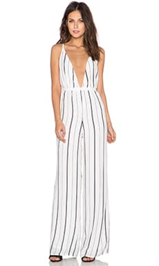FAITHFULL THE BRAND Shutterbabe Jumpsuit in St Barths Stripe