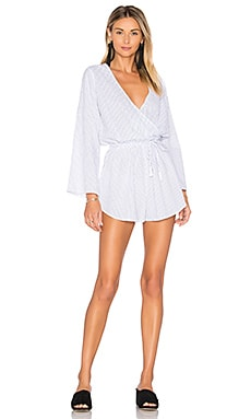 Sunkissed Playsuit in Lee Stripe Print