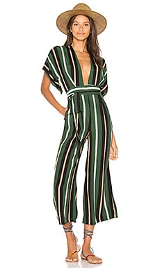 Cedric Jumpsuit in Firenze Stripe Print