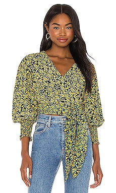Nari Wrap Top FAITHFULL THE BRAND $53