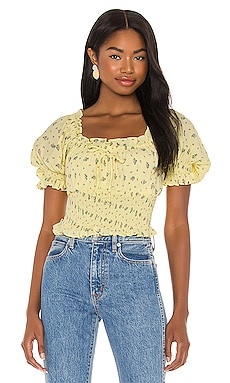 Peggy Top FAITHFULL THE BRAND $48 (FINAL SALE)