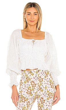 Gillian Top FAITHFULL THE BRAND $179 NEW