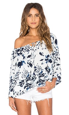FAITHFULL THE BRAND x REVOLVE Le Pirate Top in Meadows Print