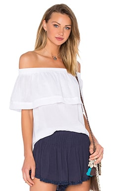 FAITHFULL THE BRAND Tilly Top in Plain White
