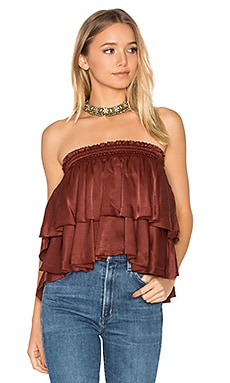 Paradiso Top in Plain Amber