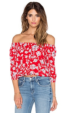 FAITHFULL THE BRAND Garden Top in Summer Dreams