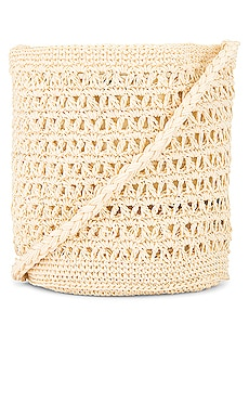 Tuscany Crochet Bag FAITHFULL THE BRAND $139