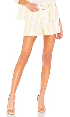 Linen Stripe Short FRAME $230 Collections