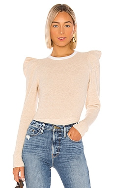 Rib Feminine Sweater FRAME $245