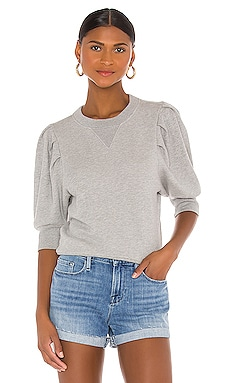 Shirred Sweatshirt FRAME $178