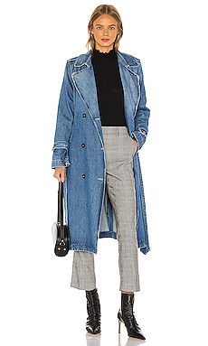 Double Breasted Trench FRAME $298 Collections