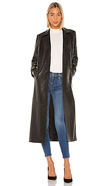 Leather Trench FRAME $2,495