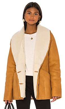 Cocoon Shearling Coat FRAME $1,747 Collections