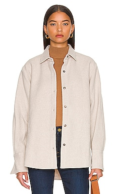 CHAQUETA THE OVERSIZED SHIRT FRAME $398 Colecciones