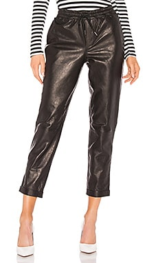 Pull On Leather Trouser Pant FRAME $995 Collections