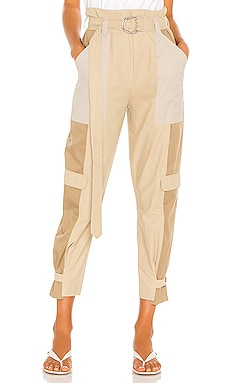 Tonal Blocked Cargo Pant FRAME $242 Collections