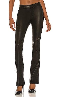 Le Serge Leather Trouser FRAME $978