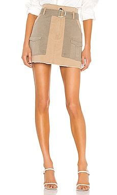 Paperbag Multi Tone Skirt FRAME $235 Collections