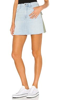 Le Mini Skirt Cargo Mix FRAME $86
