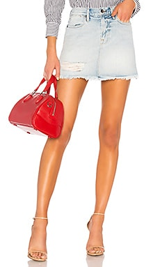 Rigid Re Release Le High Mini Skirt FRAME $215