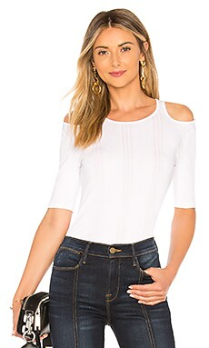 Open Shoulder Short Sleeve FRAME $42 (FINAL SALE)