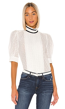 Contrast Trim Top FRAME $207