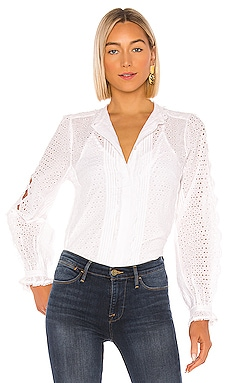 Petal Button Down Shirt FRAME $160