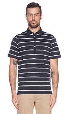 FARAH VINTAGE The Budworth Polo en True Navy