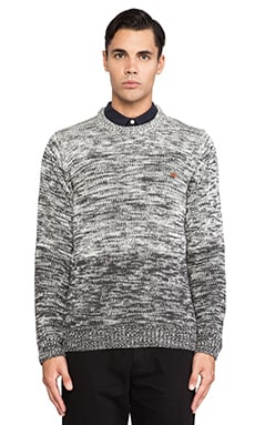 Farah 1920 The Swannel Sweater in Charcoal