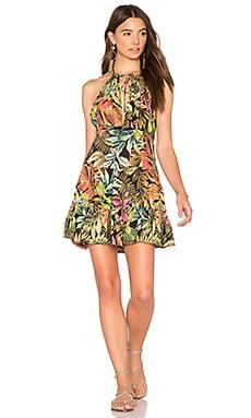Dark Foliage Mini Dress