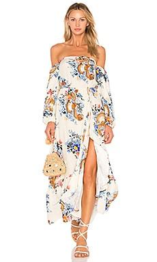 Japanese Garden Maxi Dress