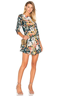 Floral Bell Dress in Floral