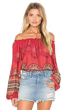 FARM Bangalora Blouse in Red