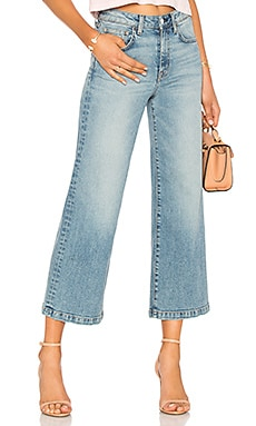 Susie High Rise Wide Leg Crop Father's Daughter $104