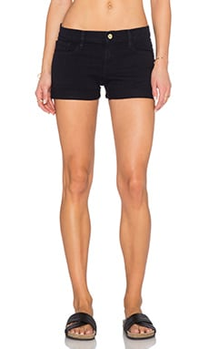 Le Cut Off Cuff Short in Deep Blue Dive