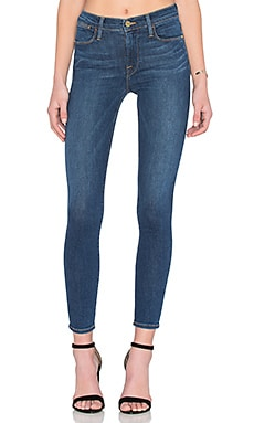 FRAME Denim Le High Skinny in Gretnagreen