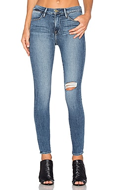 FRAME Denim Le High Skinny in Forest
