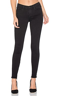 Le Skinny De Jeanne High Zip in Film Noir