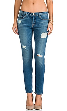 FRAME Denim Le Garcon in Blue Jay Way