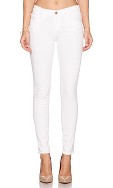 FRAME Denim Le Color Skinny in Blanc